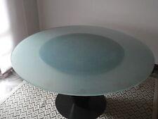 Tavolo Cono by Joe D'Urso BIEFFEPLAST design table cristallo acciaio cristal