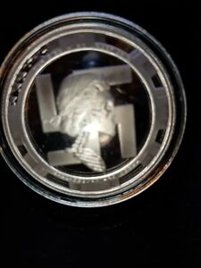 2016 1 OZ Bride Proof Silver Shield coa 347 from 1000 6 Slave Queens serie