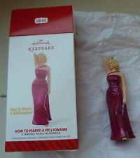 Hallmark Keepsake Ornament Marilyn Monroe How to Marry a Millionaire 2014