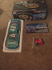 Jimmie Johnson & Chad Knaus Dual AUTOGRAPHED 2012 Madagascar Dover Race Win 1/24
