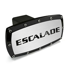 Cadillac Escalade Black Trim Engraved Billet Aluminum Tow Hitch Cover