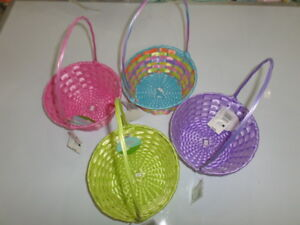 Easter Jubilee Easter round plastic basket