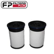 WCF225 (Set of 2) Wesfil Fuel Filter - 94771044, R2733P - Colorado 2012 Onward