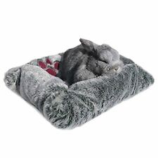 Rosewood Snuggles Luxury Plush Bed Small Pet Rabbit Dog Reptiles NEW FREE P&P