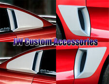 94-98 Ford Mustang Xenon Urethane 1/4 Window & Panel Scoops 4pc Set 12740 12750