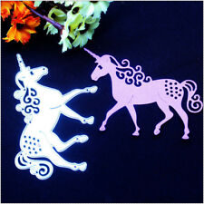 Unicorn Horse Metal Cutting Dies Stencil DIY Scrapbooking Photo Album Car H&CQ