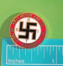 KRIT (K-R-I-T) Motor Car Co. - hat pin , lapel pin , tie tac , hatpin GIFT BOXED