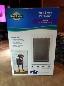 PetSafe Wall Entry Pet Door Size Large NEW AND SEALED