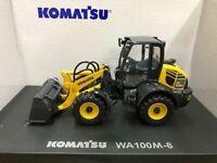RARE! Komatsu WA100M-8 Wheel Loader 1:50 Scale DieCast Model New in Original Box