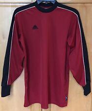 5da5ee02015 Adidas goalie shirt men's Large climalite padded sleeve red black EUC