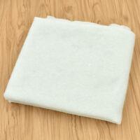 Gummifrei DIY Durchgestochen Baumwolle Stoff Vliesstoff 100g 1x1m Steppfutter