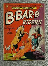 BOBBY BENSON'S B-B-Q RIDERS #3 1950 MAGAZINE ENTERPRISES/ AC GOLDEN AGE WESTERN