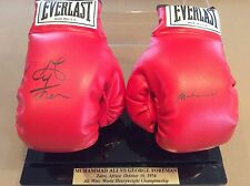 Muhammad Ali George Foreman Rumble in the Jungle Signed Boxing Gloves - PSA/DNA