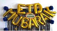 45 Pcs Eid Mubarak Decoration Party Pack Balloons-Banners Lights Islamic Ramadan