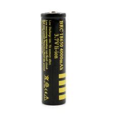 18650 4000mAh 3.7V Rechergeable Battery Li-ion lithium Batteries Replacement