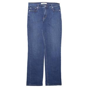 LEVI'S Blue Denim Slim Straight Jeans Womens W32 L32