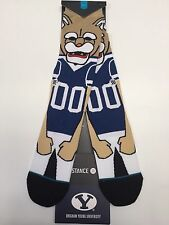 STANCE BYU COUGARS COSMO Socks Brand New!! College basketball Brigham Young