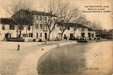 CPA    La Retorde (Aude) - Quai du Canal Maison Chiffre & Lafond   (439210)