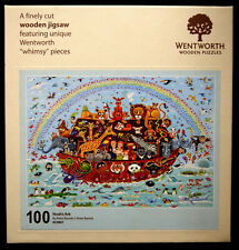 Wentworth Noah's Ark 100 Piece Wooden Jigsaw Puzzle : Boxed - Excellent