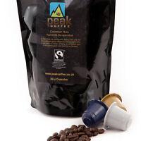 100 x Fairtrade Nespresso Compatible Espresso Coffee Capsules Pods - 6 Blends