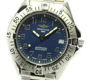 BREITLING Colt Ocean A17035 blue Dial Automatic Men's Watch_577707