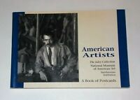 American Artists - A book of 30 Postcards - Pomegranate Artbooks