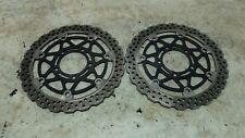 07 Kawasaki ZR Z 1000 ZR1000 B Z1000 front brake rotors disks