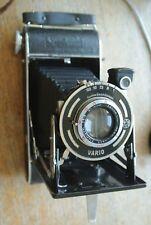 Ensign Selfix 320 Folding Camera Ensar Anastigmat 100mm 1:4.5 Lens VARIO Shutter