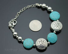 Unbranded Turquoise Silver Plated Fashion Bracelets