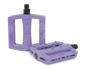 RANT TRILL PC PEDALS BMX BIKE HARO CULT KINK SE SUBROSA GT SUNDAY SHADOW PURPLE