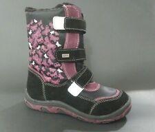 New $120 Gioseppo Kids Girls Boots Snow Waterproof Leather Sz 10.5 Usa/28 Euro