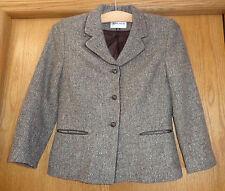 Womans sz 10 - Brown Sparkle Tweed BLAZER - Albert Nipon JACKET - Wool Blend
