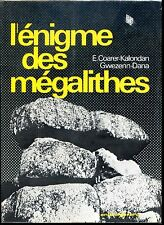 L'ENIGME DES MAGALITHES - E. Coarer-Kalondan Gwezenn-Dana 1974