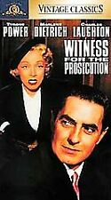 Witness for the Prosecution (Vhs, 1996, Vintage Classics) New Factory Sealed