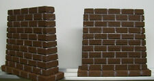 BRIDGE PIERS For O Scale Model Railroad Train Layout / Train Scenery / O Gauge