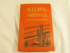 Vintage Book Alluring Arizona 1927 Petroglyphs Hopi Apache Prescott William Hami