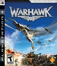 Warhawk (Sony PlayStation 3, 2007) Complete w/ Manual PS3 AIRPLANE