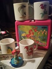 Disney's Little Mermaid Lunchbox, DIsney Channel Mugs, Ruler, and figurine