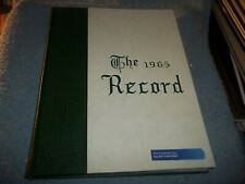 1965 VINELAND HIGH SCHOOL YEARBOOK VINELAND NJ NEW JERSEY  RECORD with extras