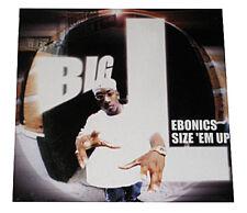 "BIG L - EBONICS / SIZE 'EM UP - MAXI-SINGLE - 12"" VINYL LP - SEALED"