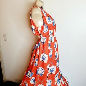 A Pea In The Pod Maternity Womens Floral Maxi Dress Size S