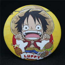 Japanese Anime Character ONE PIECE LUFFY Q edition Badge Brooch Chest Pin