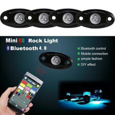 4 Pods RGB Mini LED Rock Lights Kit for Jeep Off Road Car Truck Boat Accessories