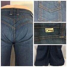 """Dittos Women's Jeans 26 """"Classic Roadhouse"""" Wide Leg Made In USA RE CG141 M4U"""