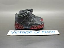 47abbac9449 Nike Air Jordan AJF III 3 Fusion Black Berry Retro Crib Infant TD 2008 sz 2C