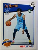 2019-20 Panini NBA Hoops Tribute Winter Ja Morant Rookie RC #297, Grizzlies