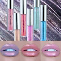 Waterproof Jelly Glitter Lip Gloss Liquid Long Lasting Lipstick MakeupCosmetic🍂