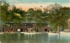 Iowa, IA, Ottumwa, Boat House 1910's Postcard