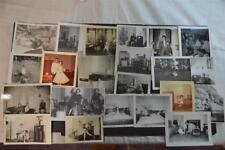 Lot of 22 Vintage Photos Men & Girls Listening to Radios 915051