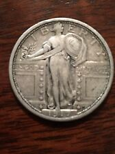 1917-P Type I Standing Liberty Quarter Dollar 90% Silver Great Coin 1917P 1
